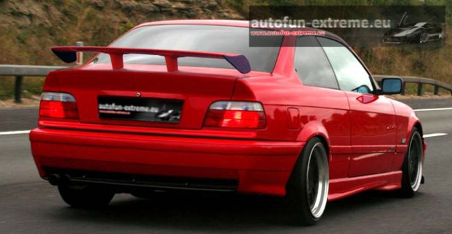bmw e36 heckspoiler spoiler e 36 tuning teile bmw sport ebay. Black Bedroom Furniture Sets. Home Design Ideas