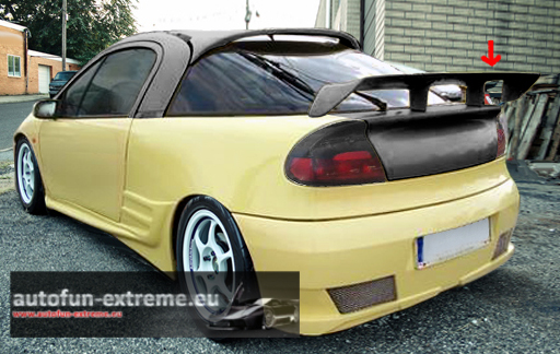 opel tigra heckspoiler spoiler tuning sport teile tigra ebay. Black Bedroom Furniture Sets. Home Design Ideas