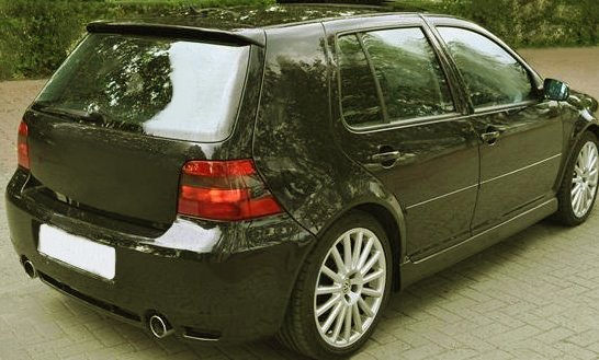 vw golf 4 iv dachspoiler spoiler heckfl gel r32 tuning. Black Bedroom Furniture Sets. Home Design Ideas