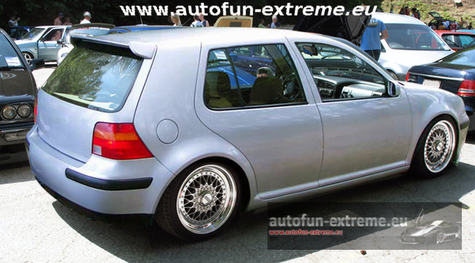 vw golf 4 iv dachspoiler spoiler tuning race ebay. Black Bedroom Furniture Sets. Home Design Ideas